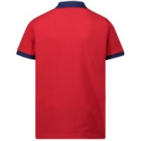Afbeelding van Moncler 8A70120 kinder polo rood