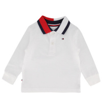 Afbeelding van Tommy Hilfiger KN0KN01153 baby polo wit