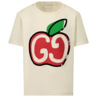 Afbeelding van Gucci 609675 kinder t-shirt off white