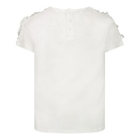Afbeelding van Givenchy H05145 baby t-shirt wit