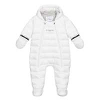 Afbeelding van Givenchy H96017 baby skipak wit