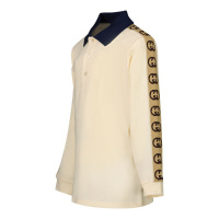 Afbeelding van Gucci 620275 baby polo off white