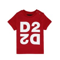 Afbeelding van Dsquared2 DQ044H baby t-shirt rood