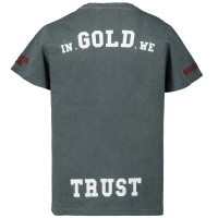 Afbeelding van In Gold We Trust wk001102011029 kinder t-shirt petrol