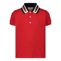 Afbeelding van Gucci 573867 baby polo rood