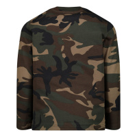 Afbeelding van Dsquared2 DQ04D7 D002V baby t-shirt army