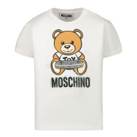 Afbeelding van Moschino MPM02A baby t-shirt off white