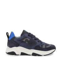 Afbeelding van Philippe Model AI20EZL0 kindersneakers army/navy