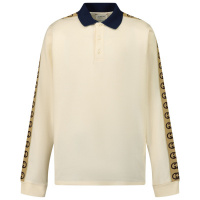 Afbeelding van Gucci 616953 kinder polo off white