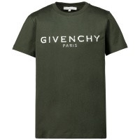Afbeelding van Givenchy H25H47 kinder t-shirt army