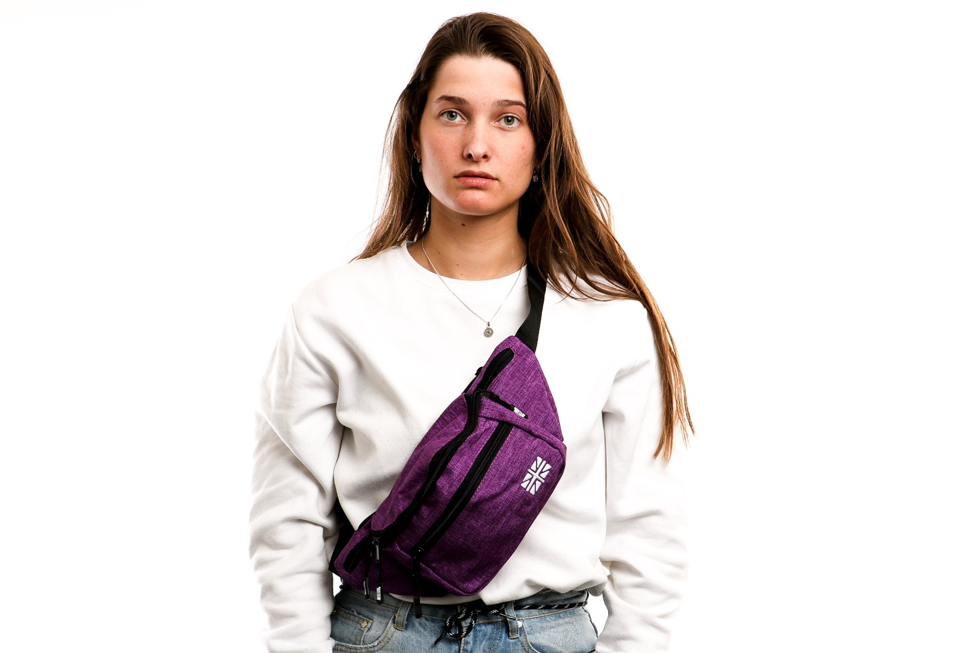 Foto van Go-Britain Compartment Gbb01 Fanny Pack (Heuptas) Purple