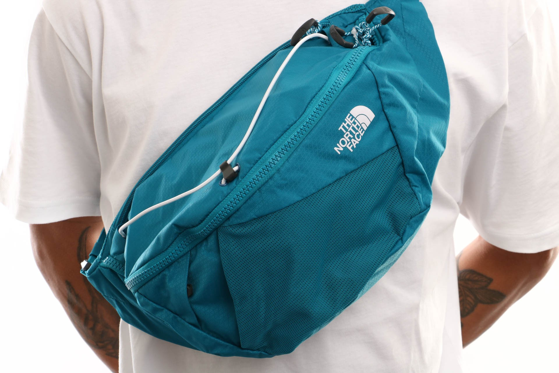 Afbeelding van The North Face Lumbnical - L T93S7Ybg2 Heuptas Crystal Teal/Tnf White