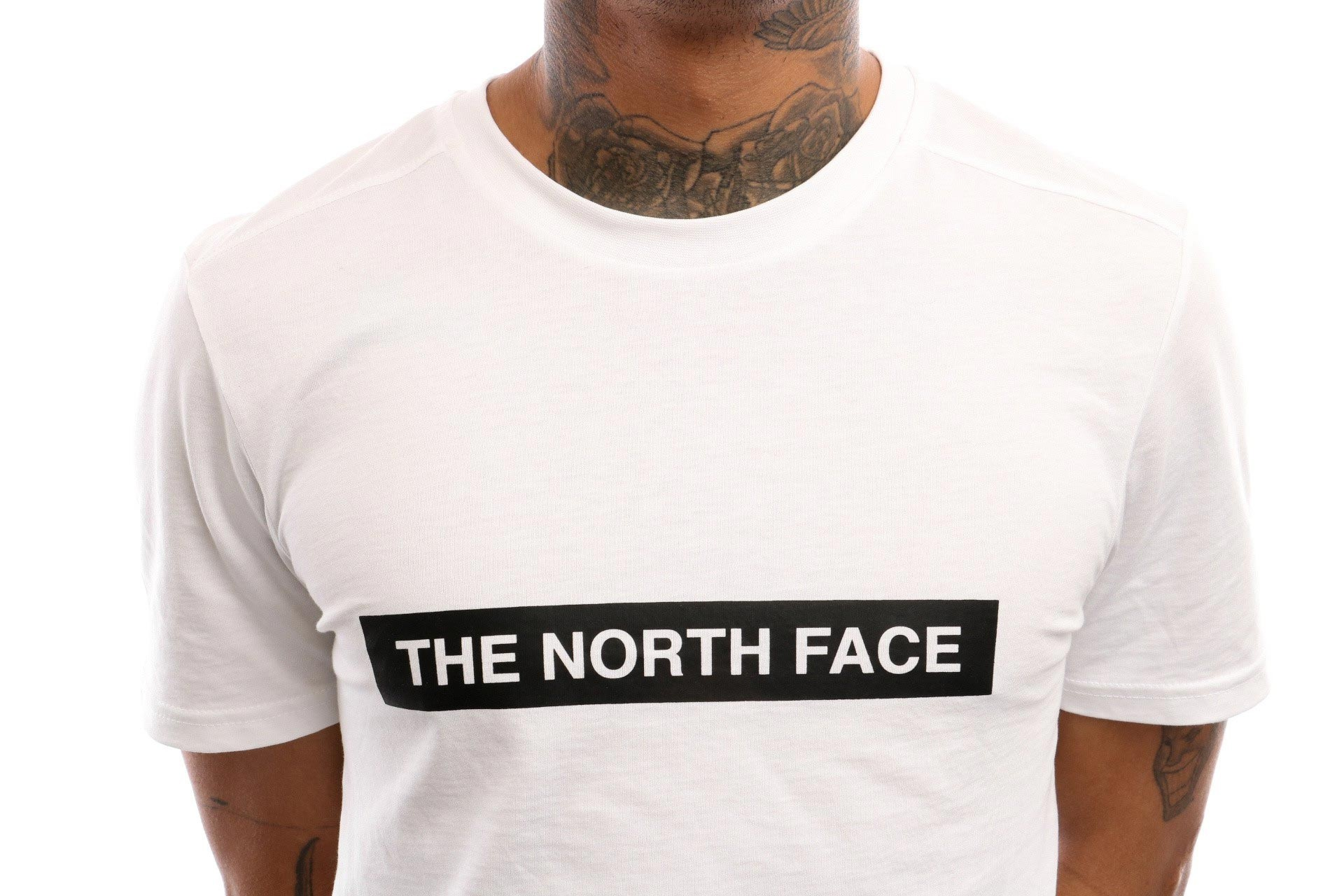 Afbeelding van The North Face M S/S Light Tee T93S3O T Shirt Tnf White