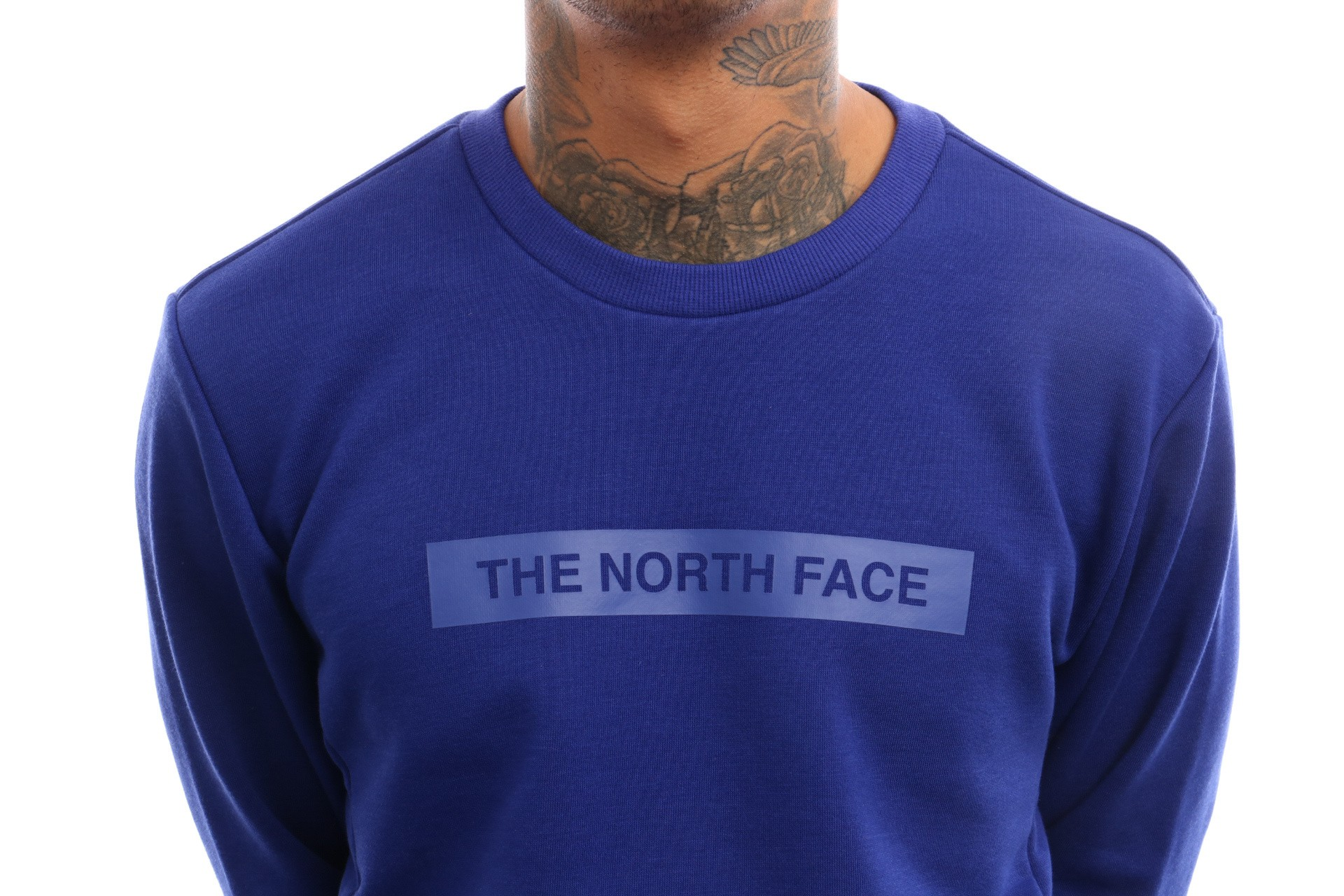 Afbeelding van The North Face M Lht Crew T93Ryd Crewneck Lapis Blue