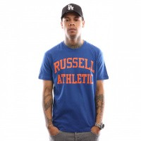 Russell Athletic Iconic Short Sleeve A9-002-1 T Shirt Mazarine Blue