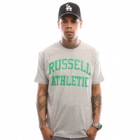 Russell Athletic Iconic Short Sleeve A9-002-1 T Shirt New Grey Marl