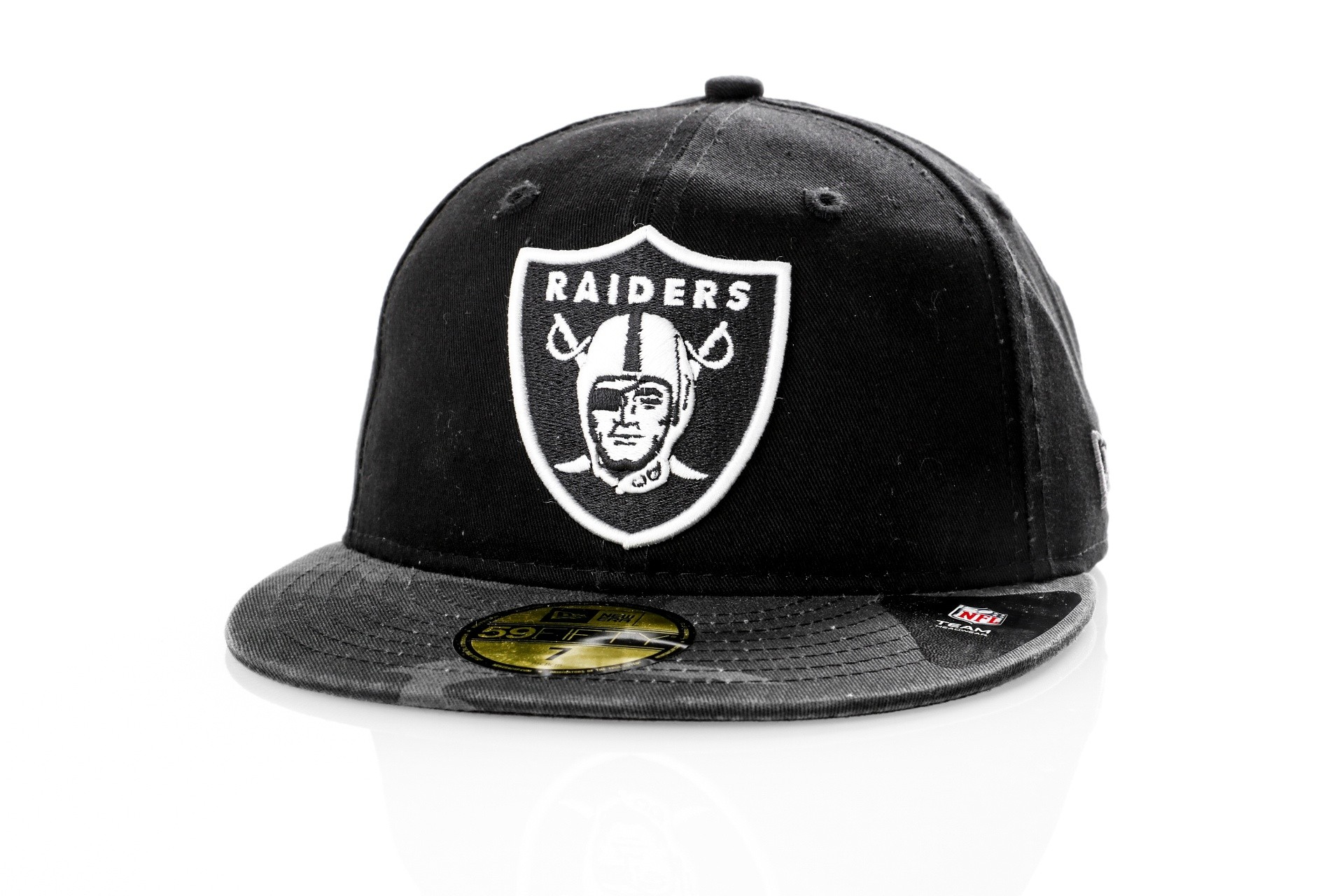 Foto van New Era Fitted Cap Oakland Raiders WASHED CAMO 59FIFTY 80580942