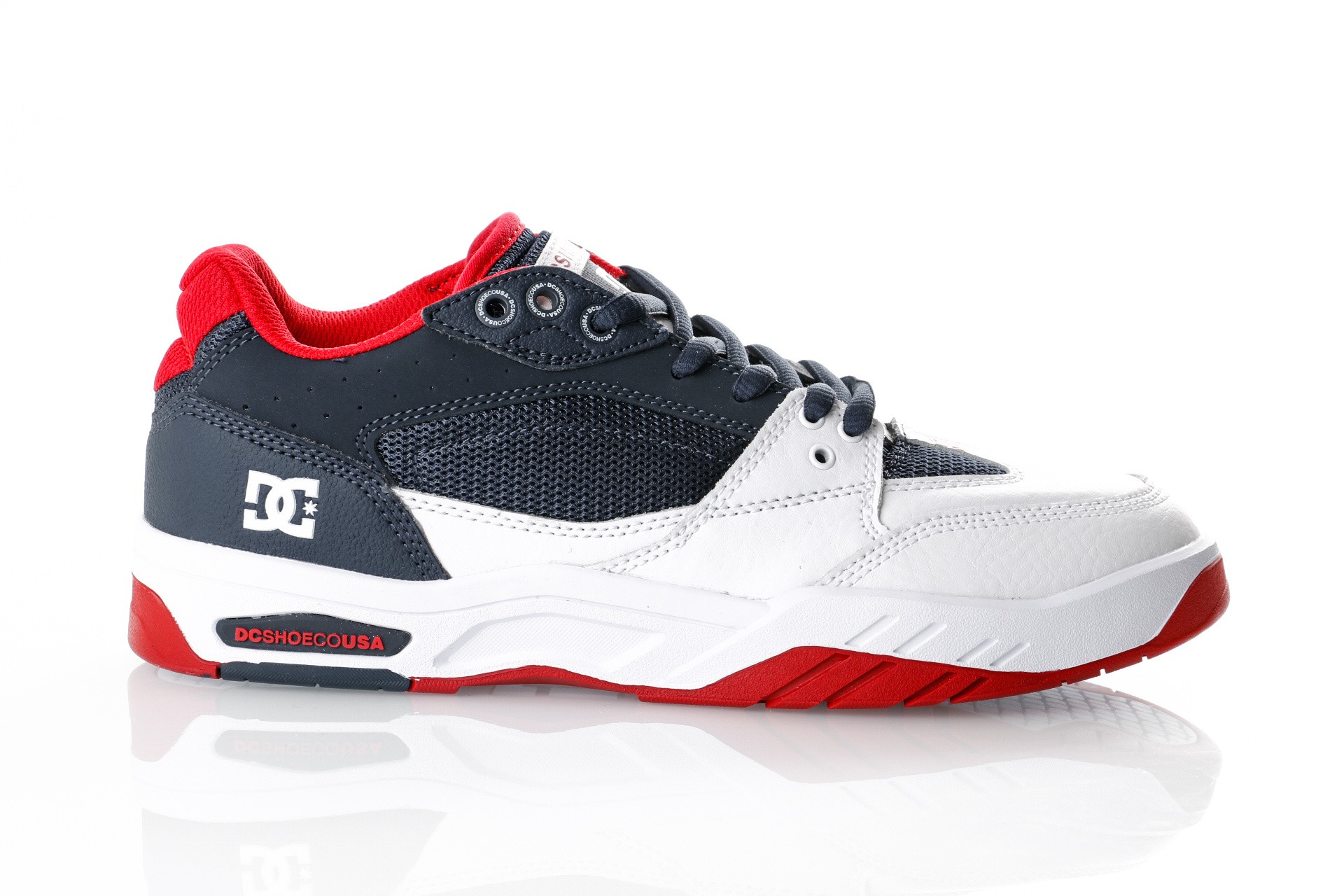 Foto van Dc Maswell M Shoe Nvw Adys100473-Nvw Sneakers Navy White