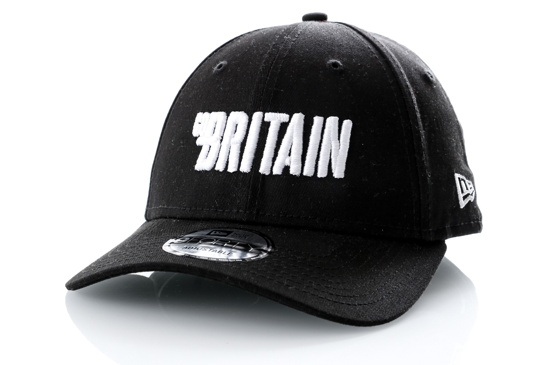 Foto van Go-Britain Dad cap Logo Carrier Black/White GB-1002