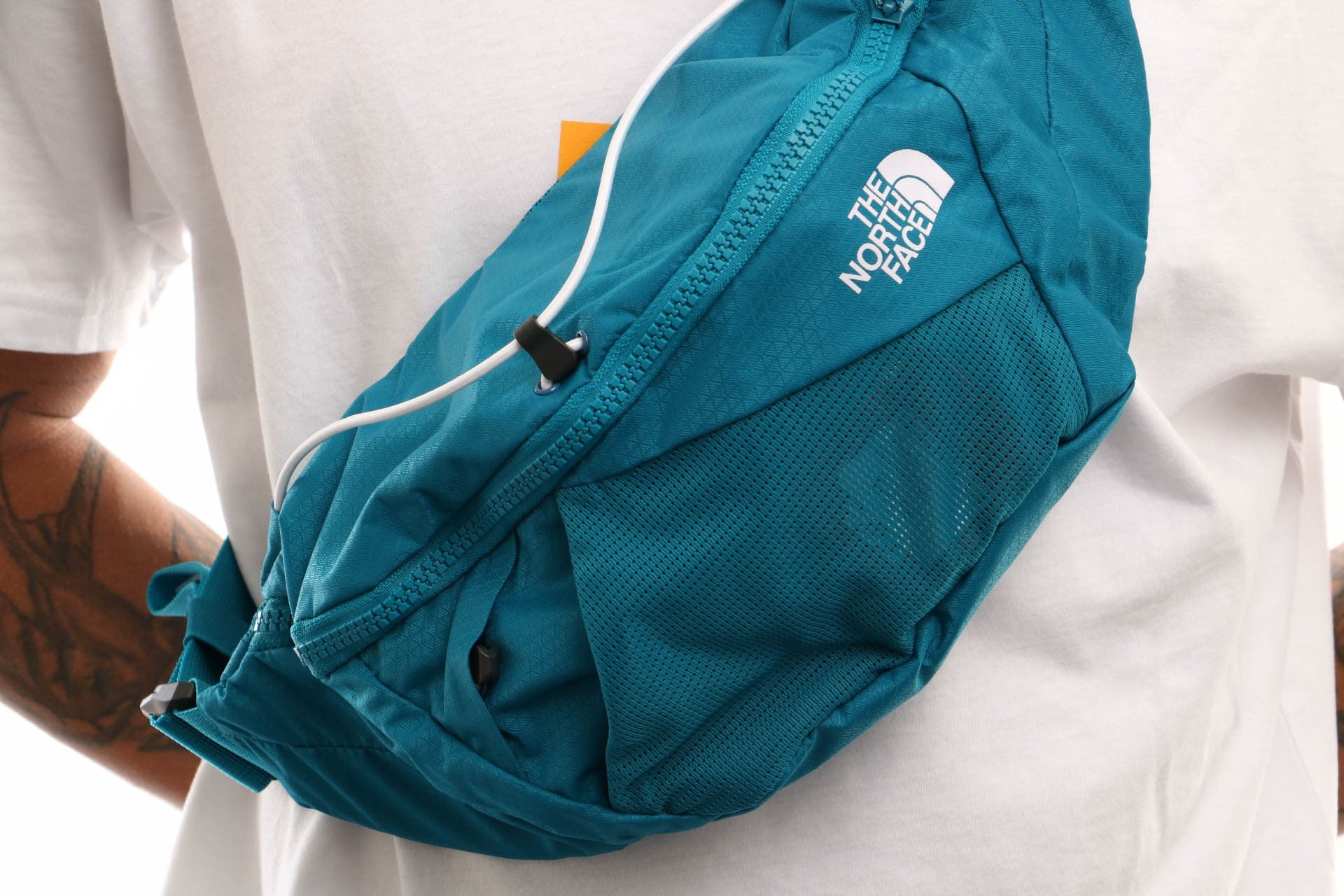 Afbeelding van The North Face Lumbnical - S T93S7Zbg2 Heuptas Crystal Teal/Tnf White