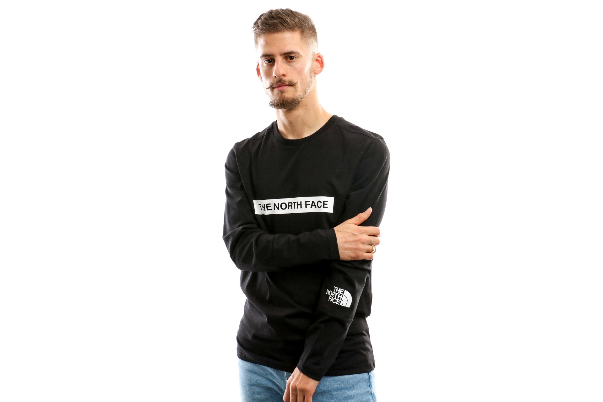 The North Face M L/S Light Tee T93S3G Longsleeve Tnf Black