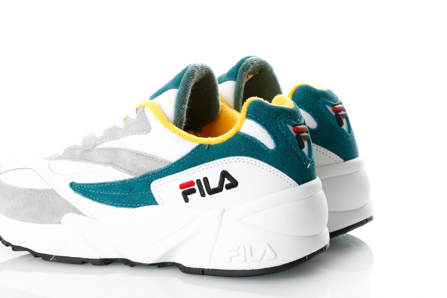 Afbeelding van Fila V94M 1010572 Sneakers Gray Violet / Shaded Spruce / Inca Gold