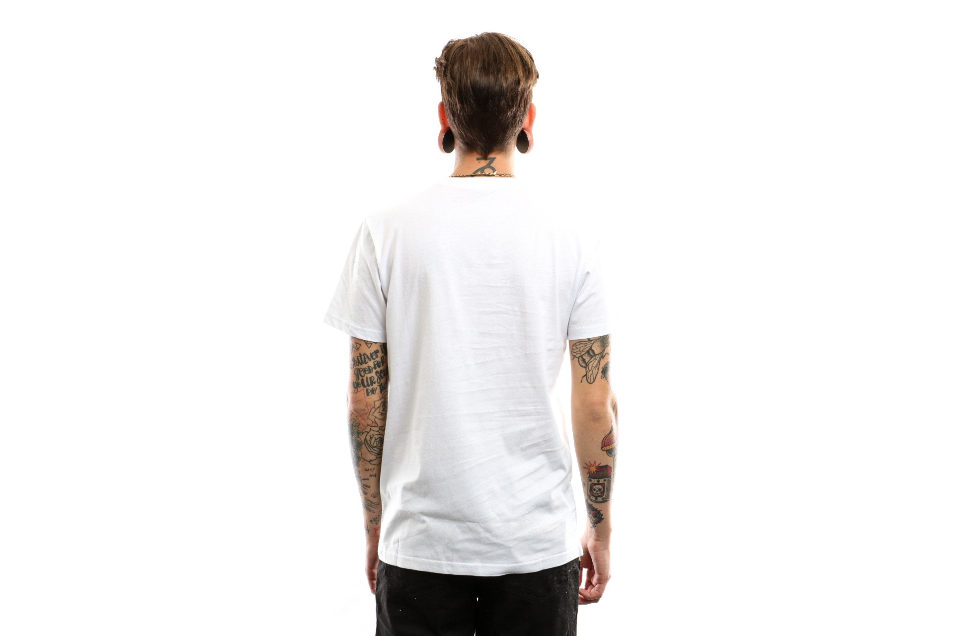 Afbeelding van Vans T-Shirt Mn Pyramid Panther White Vn0A3H6Owht1