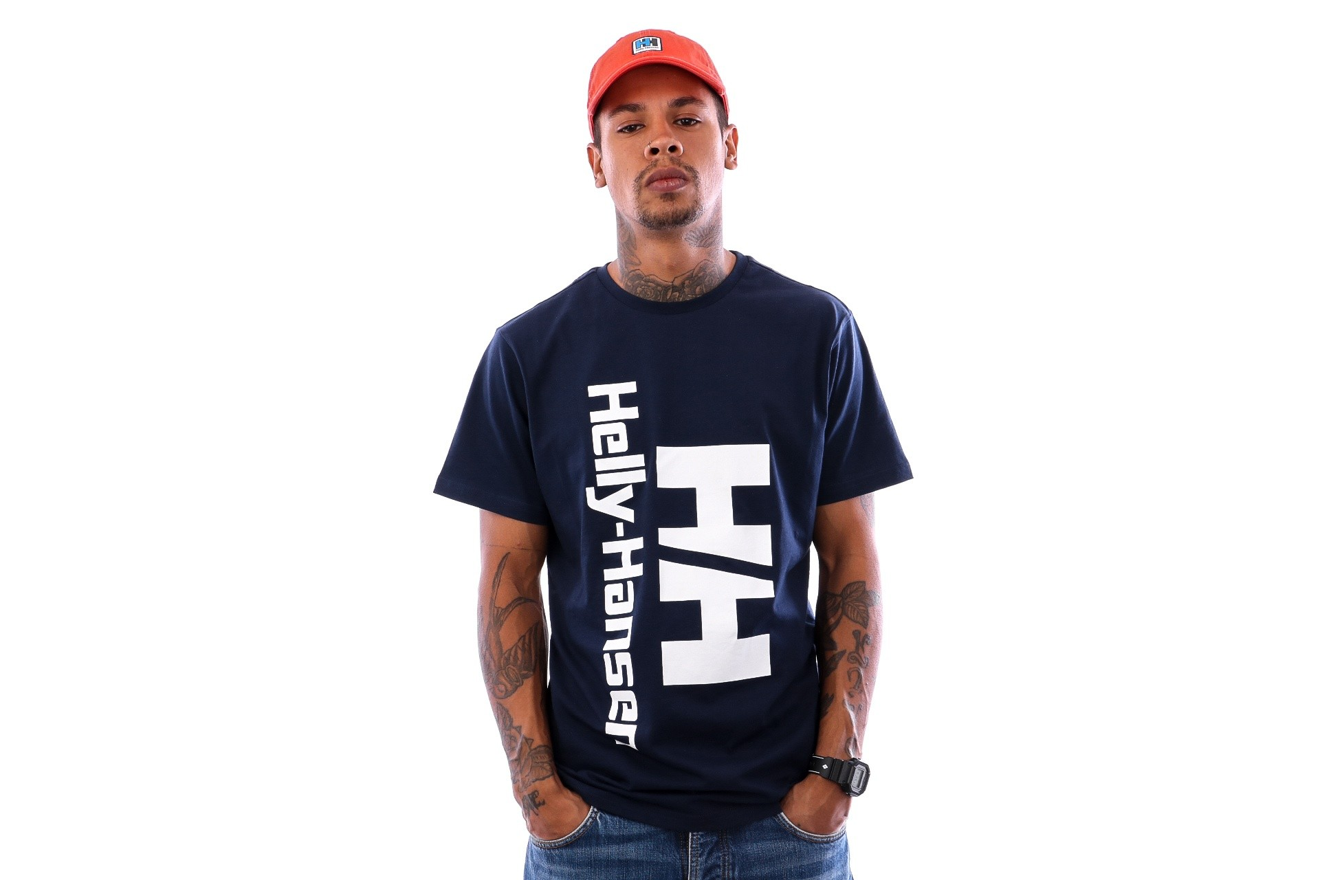 Helly Hansen Hh Retro T-Shirt 29662 T Shirt Evening Blue