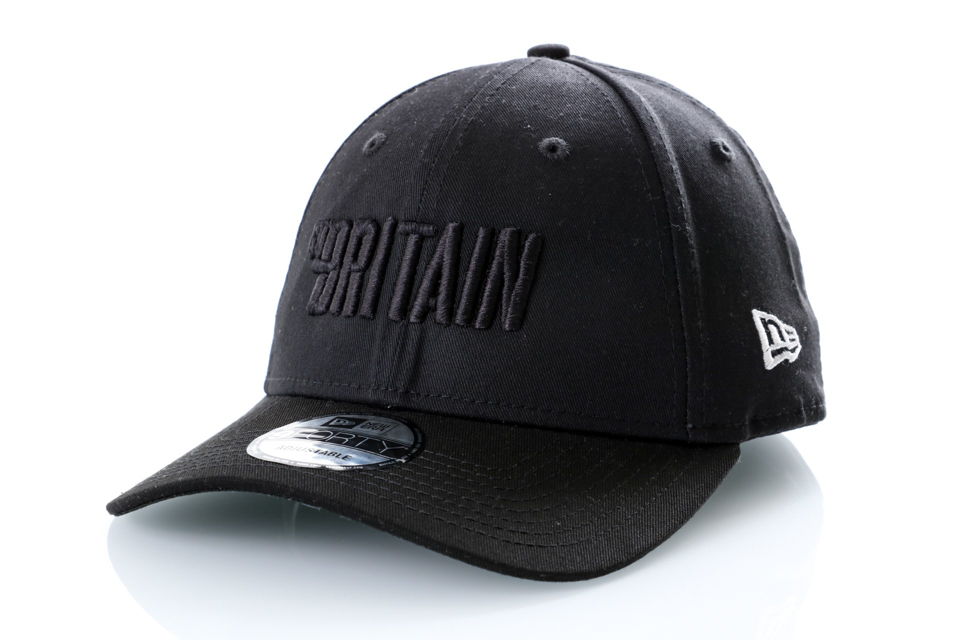 Foto van Go-Britain Dad cap Logo Carrier Black/Black GB-1001