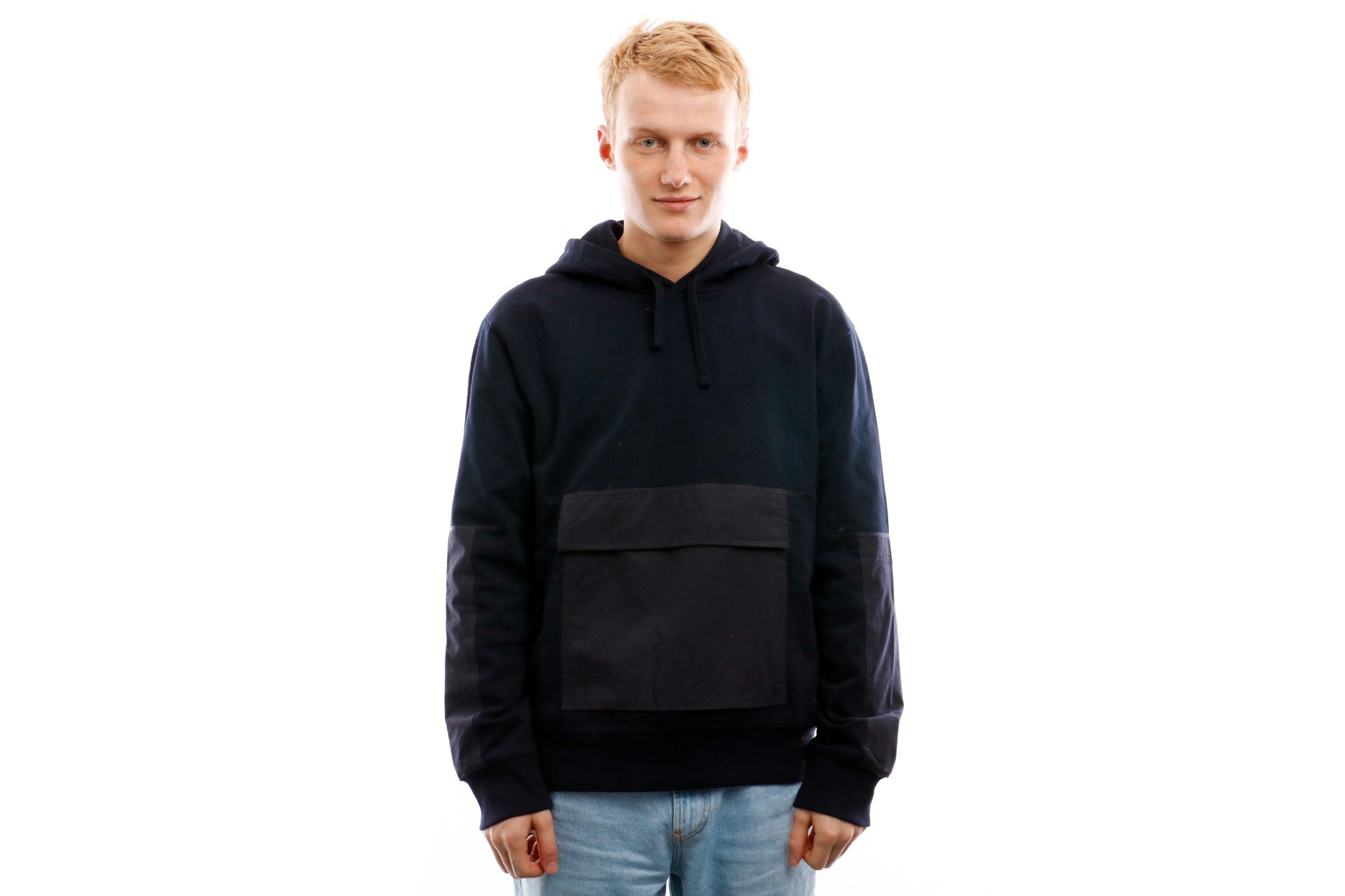 Foto van Carhartt WIP Hooded Hooded Klicks Sweat Dark Navy / Dark Navy I027007