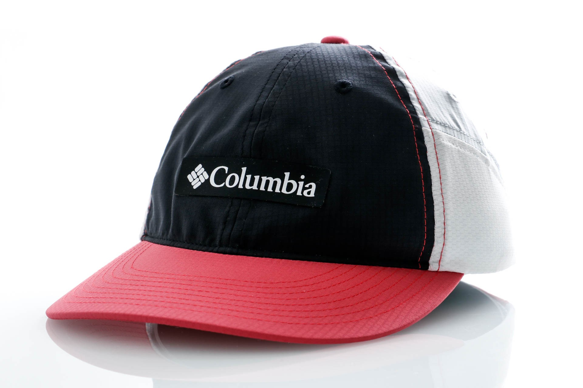Foto van Columbia 5 Panel Cap Ripstop Ball Cap-Black, Rouge Pi Black, Rouge Pink, Cirrus Grey, White 1886811