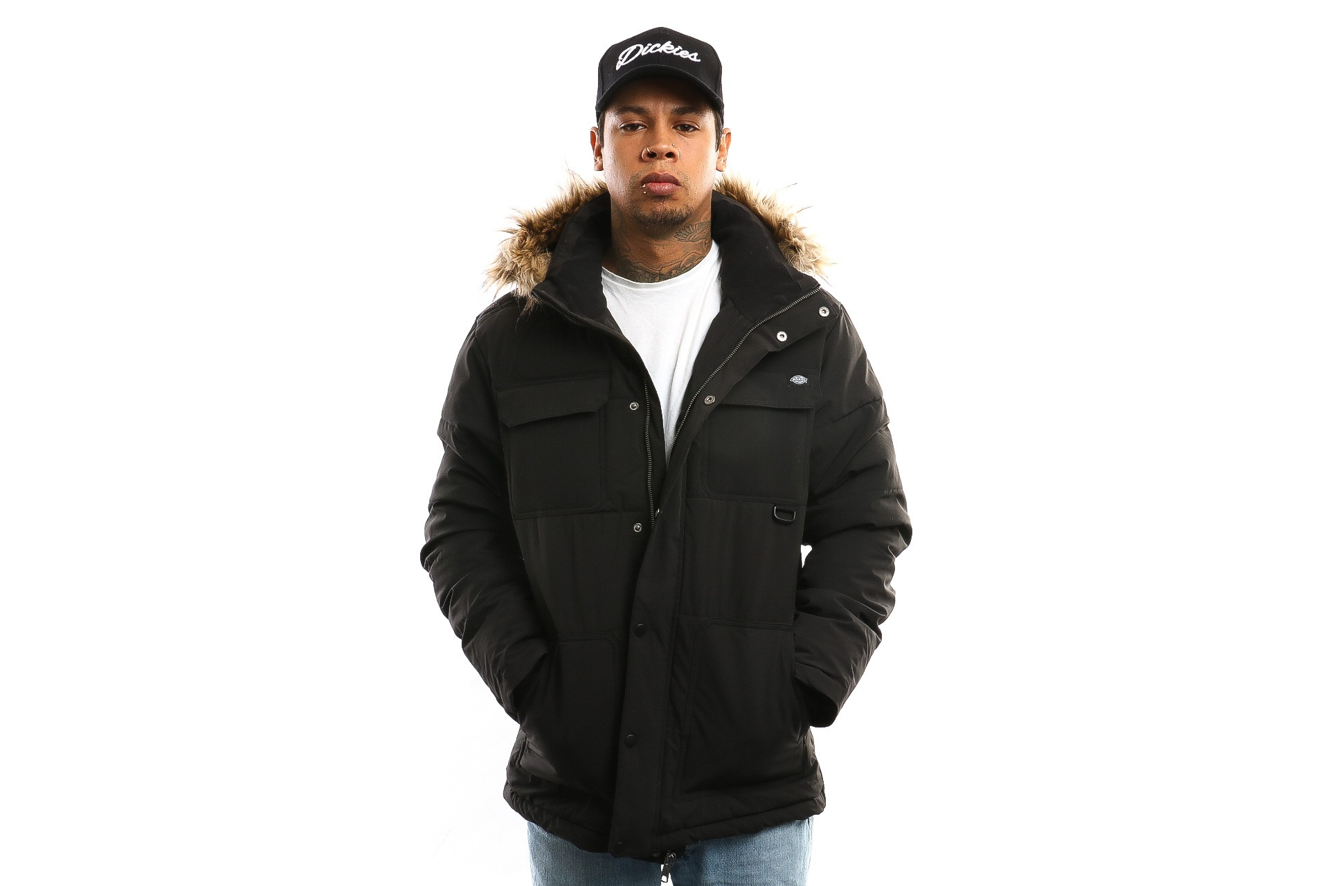 Foto van Dickies Manitou 07 200347 Jacket Black