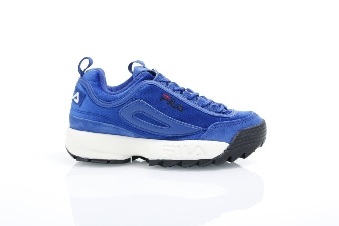 Fila Ladies 1010305-20R Sneakers Disruptor V Low Blauw