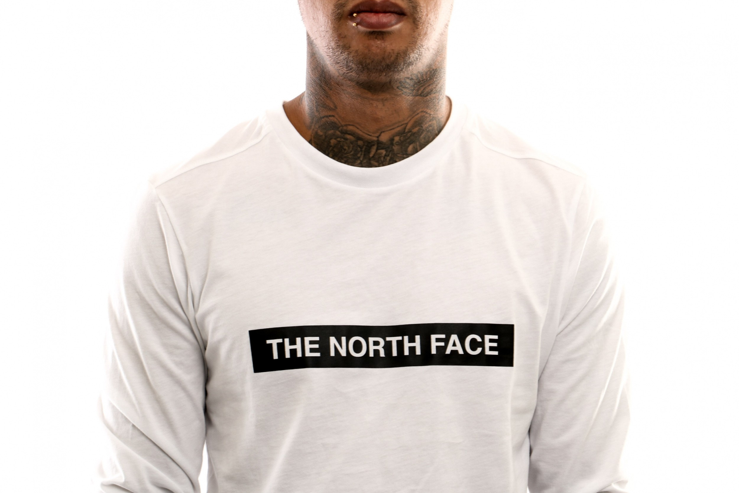 Afbeelding van The North Face M L/S Light Tee T93S3G Longsleeve Tnf White