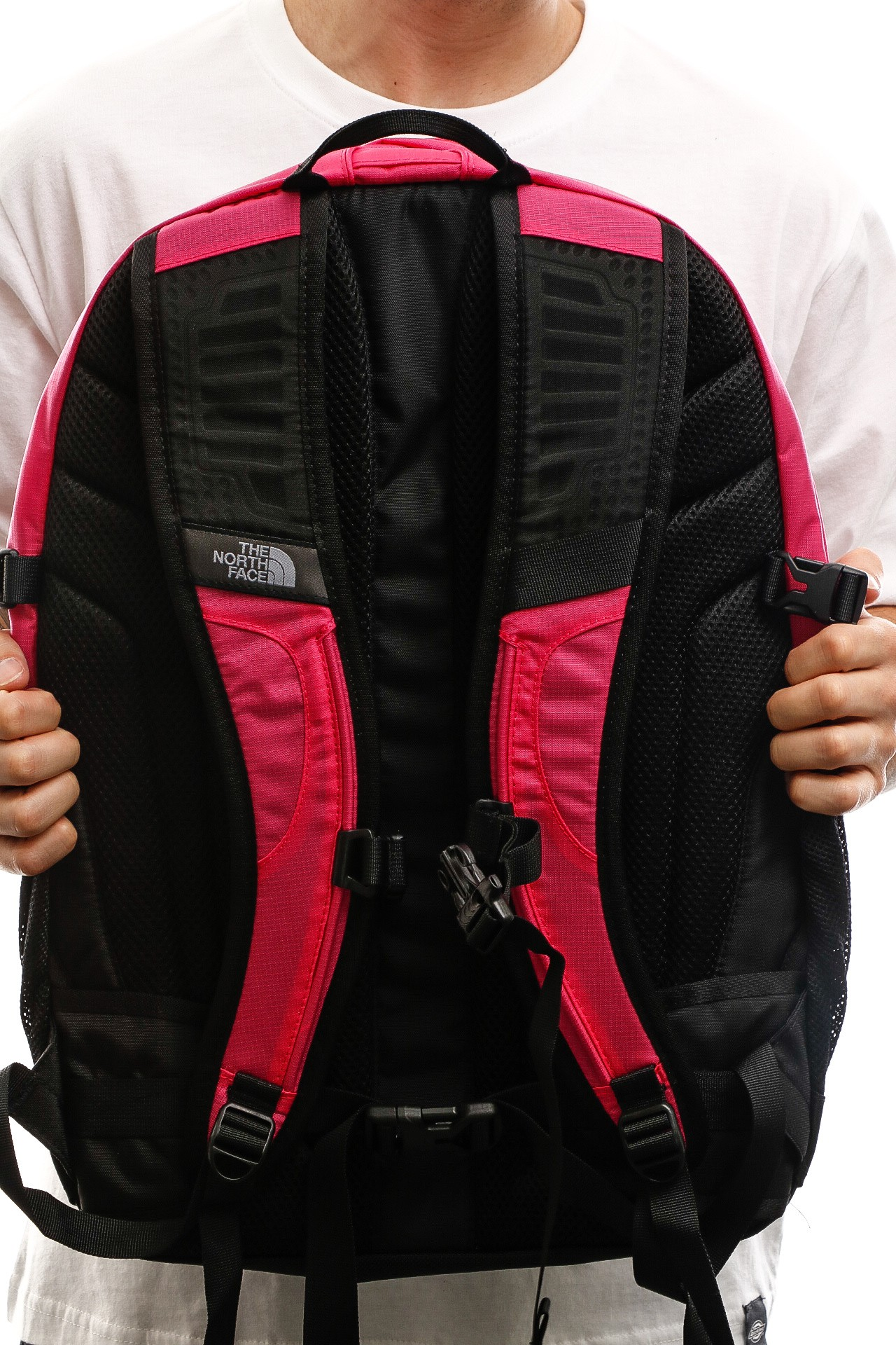 Afbeelding van The North Face Rugzak Borealis Classic Mr Pink Ripstop/Tnf Black NF00CF9CPP6